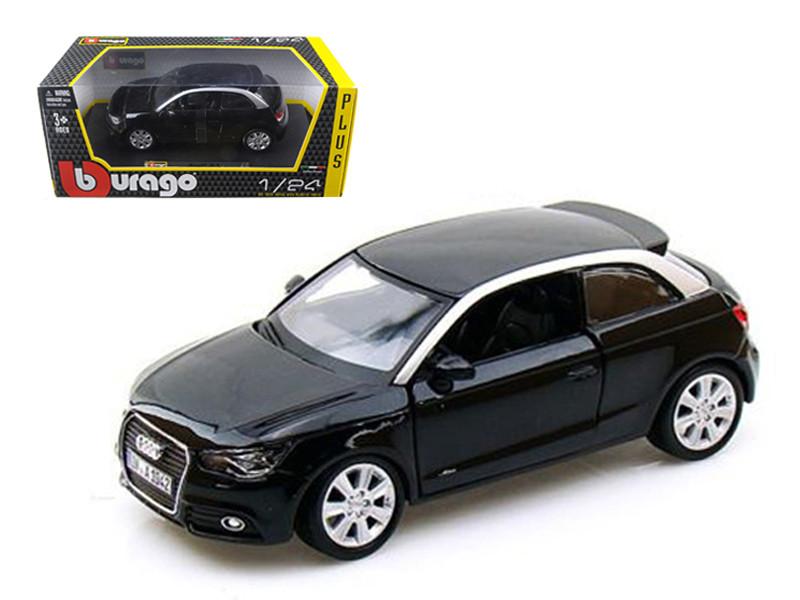Audi A1 Black 1/24 Diecast Car Model Bburago 21058