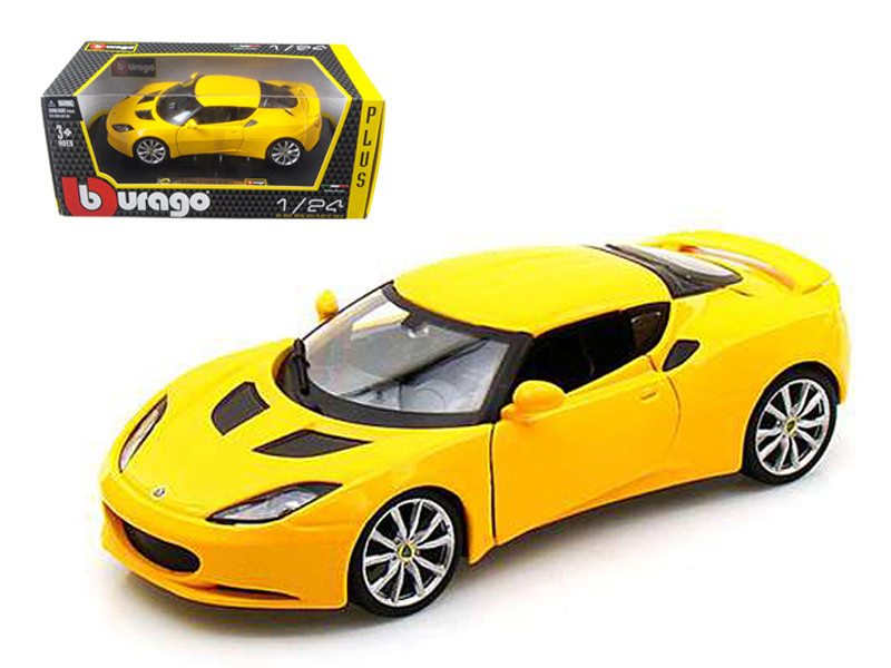 Lotus Evora S IPS Yellow 1/24 Diecast Car Model by Bburago