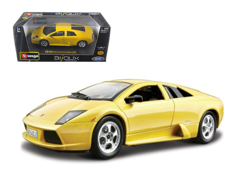 Lamborghini Murcielago Yellow 1/24 Diecast Model Car Bburago 22054