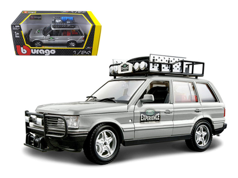 Range Rover Safari Experience 1/24 Diecast Model Car Bburago 22061