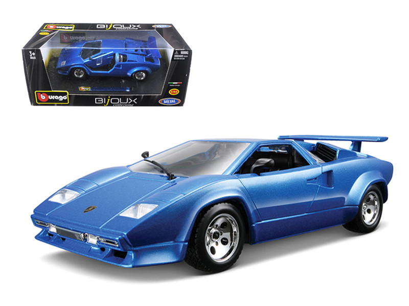 Starsun Depot Lamborghini Countach 5000 Quattrovalvole Blue 1 24