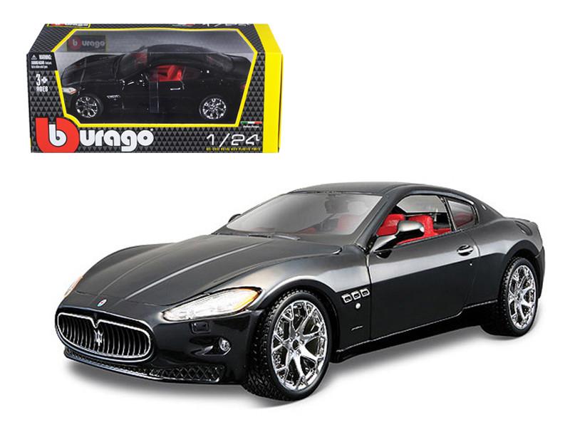 2008 Maserati Gran Turismo Black 1/24 Diecast Car Model by Bburago