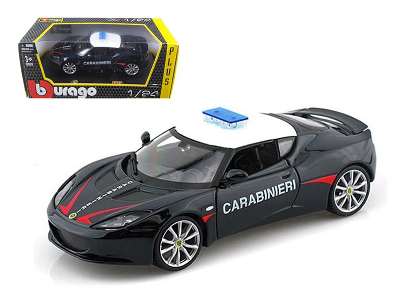 Lotus Evora S Carabinieri / Italy Police 1/24 Diecast Car Model by Bburago