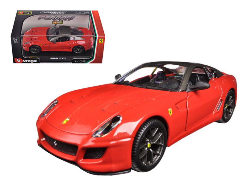 Ferrari 599 GTO Red 1/32 Diecast Model Car Bburago 44024