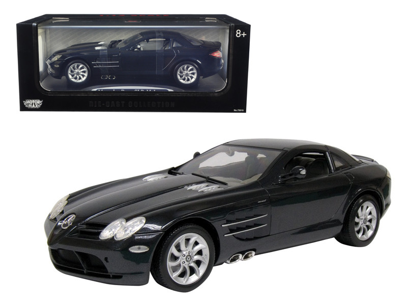 Mercedes Mclaren SLR Black 1/12 Diecast Model Car by Motormax