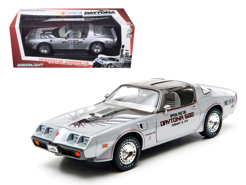 1979 Pontiac Firebird Trans Am 1979 February 18 Daytona 500 Pace Car 1/18 Diecast Car Model by Greenlight 12848