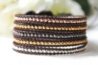 5 Wrap Bracelet - Metal