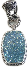 California Beach Drusy Pendant by Sarda