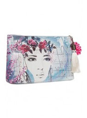 Fireweed Large Accessory Pouch by PAPAYA!