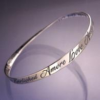 Love in 28 Languages Mobius Bracelet