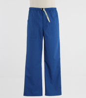 Scrub Med Mens Belted Scrub Pants Skipper Blue