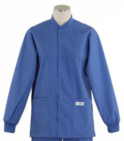 Scrub Med ROM Lab Jacket Bimini Blue