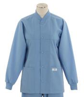 Scrub Med ROM Lab Jacket Celestial Blue