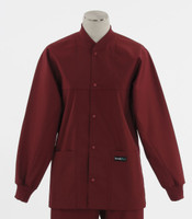 Scrub Med ROM Lab Jacket Currant
