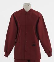 Scrub Med ROM Lab Jacket Currant