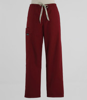 Scrub Med Womens Drawstring Scrub Pants Currant