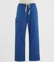 Scrub Med Womens Drawstring Scrub Pants Skipper Blue