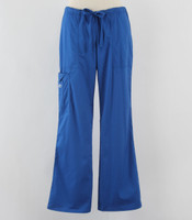 Cherokee Workwear Core Stretch Womens Cargo Scrub Pants Royal - Tall