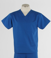 Maevn Unisex Scrub Top Royal
