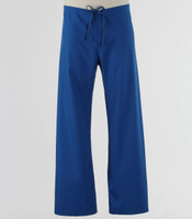 Maevn Unisex Seamless Drawstring Scrub Pants Royal - Petite