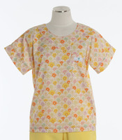 Scrub Med Womens Print Scrub Top Rapunzel - Original Price: $31.00 - ALL SALES FINAL!