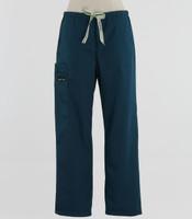 "Scrub Med Womens Drawstring Scrub Pants Spruce - 28.5"" Inseam - Original Price $37 - ALL SALES FINAL!"