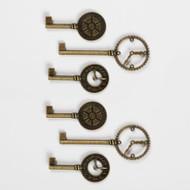 Graphic 45 Staples Metal Clock Keys