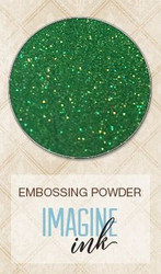 Blue Fern Imagine Ink Embossing Powder Lucky