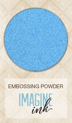 Blue Fern Imagine Ink Embossing Powder Bonny Blue