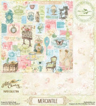 Blue Fern Attic Charm Paper Mercantile