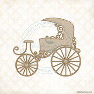 CHESTERVILLE Blue Fern Studio Chipboard Carriage