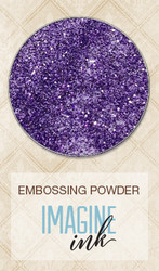SPRING PARADE Blue Fern Studio Embossing Powder Lavender