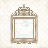 SPRING PARADE Blue Fern Studio Chipboard Kevin's Frame