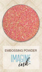 EMBOSSING POWDER GARDEN LIFE Blue Fern Studio Sunlight Rose