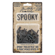 TIM HOLTZ Halloween Typography