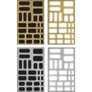Tim Holtz Idealogy Metallic Sticker Labels