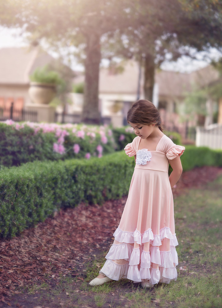 """""""""GRETA MAXI DRESS-BLUSHING PINK"""""""""