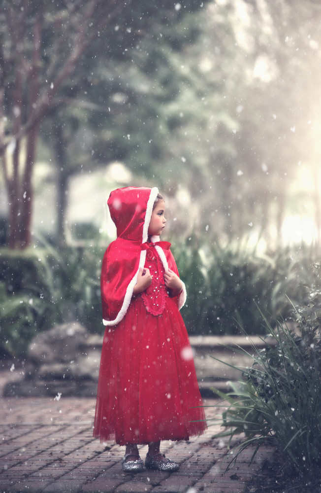 """""""""""""""LITTLE RED RIDING HOOD COSTUME"""""""""""""""