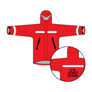 Foul Weather Jacket with US Coast Guard Stencil