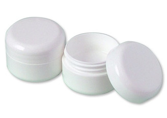 WHITE LIP BALM JAR (Per Dozen)