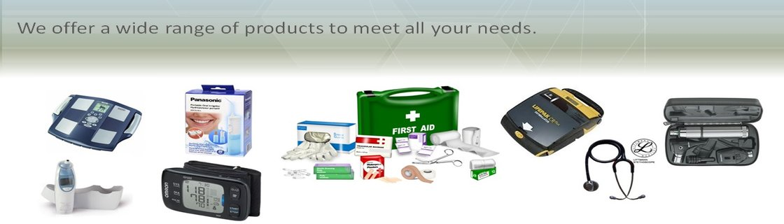 Wide selection of quality medical products