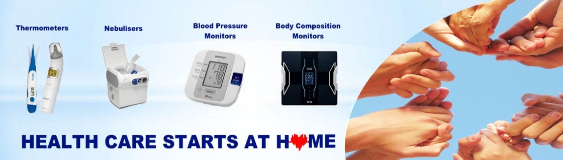 Omron Thermometers, Nebulisers and BP Monitors