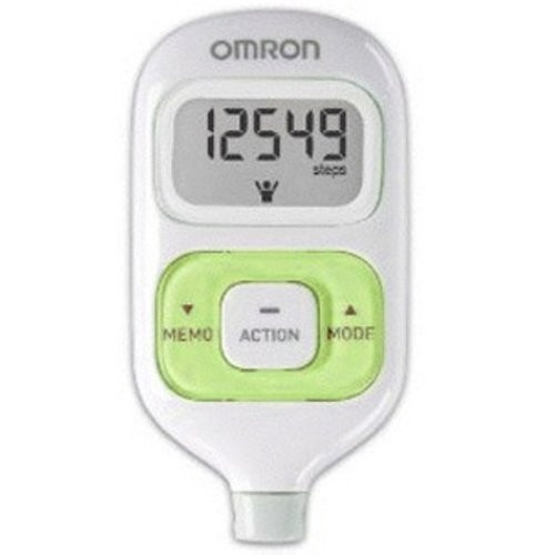 omron walking style iii step counter pedometer green. Black Bedroom Furniture Sets. Home Design Ideas