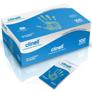 Clinell Hand Wipes in Individual Sachets