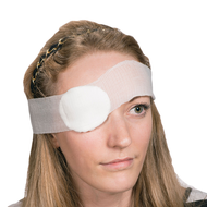Eye Pad Dressing No.16 with Bandage, Sterile