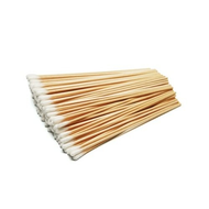 "Cotton Tipped Wooden Applicator 6"", 100/pack"
