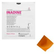 Inadine (PVP-I) Non Adherent Dressing, 9.5cm x 9.5cm