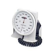 Accoson 6 Inch Aneroid Sphyg, Desk Model with Coiled Tubing and Ambidex Cuff