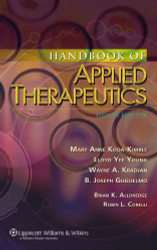 Handbook Of Applied Therapeutics