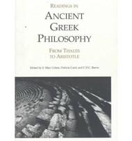 Readings In Ancient Greek Philosophy by Marc Cohen